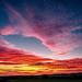 Stunning sunset by peterbaird100