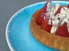Strawberry Cream Flan