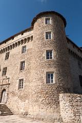 Façade Est du châtreau de Chalmazel - Photo of Jeansagnière