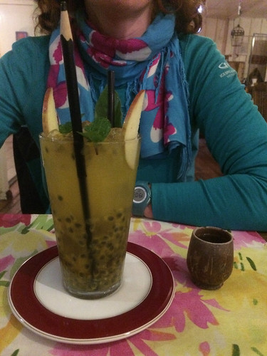 "Foz do Iguaçu: une ""caipirinha"" au fruit de la passion"
