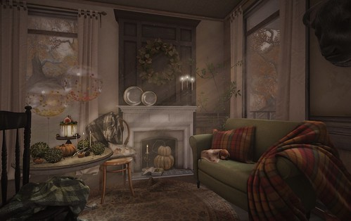 SL Flickr Of The Day: Virtual Interior As Lush As A Painting