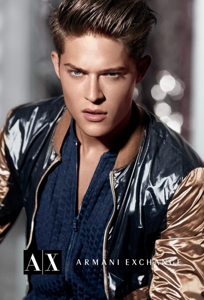 Cesar Casier0115_Armani Exchange Fall 2012