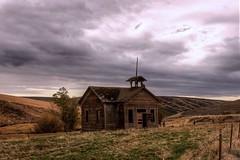 Lynn Gulch schoolhouse