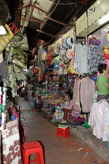 Crowded aisle of the Russian Market