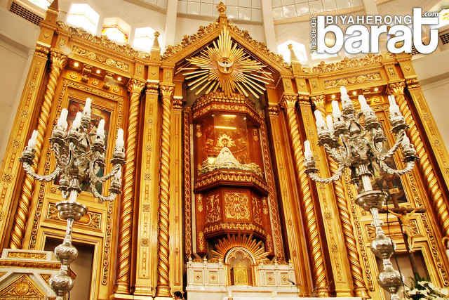 altar of Antipolo Church