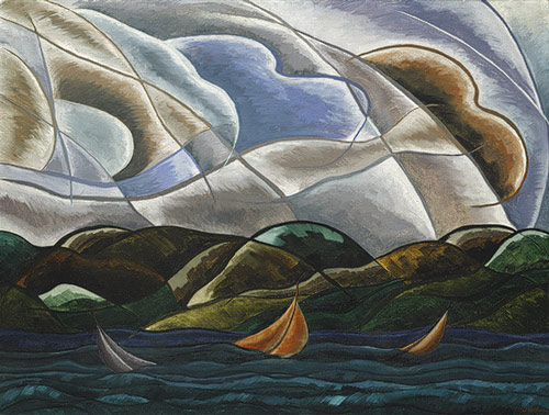 Arthur Dove: Clouds and Water