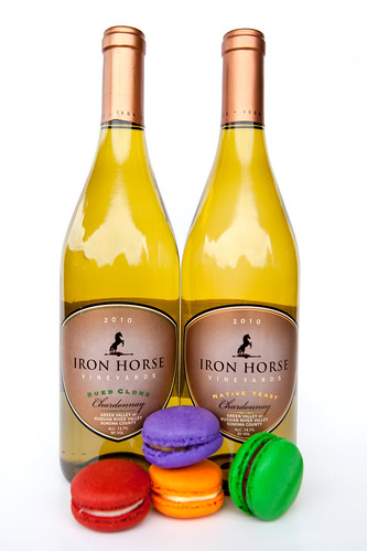 Iron Horse Rued Clone Chardonnay 2010 and Iron Horse Native Yeast 2010