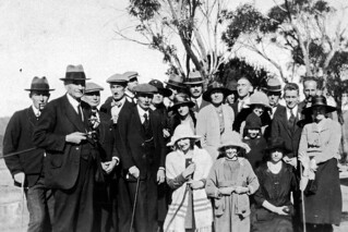 Group at Evans Lookout, May 1922