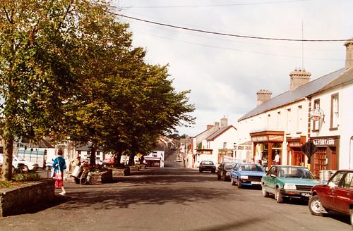 The Square, Rathdowney, Co. Laois, 1990