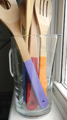 Rainbow Wooden Spoons 19