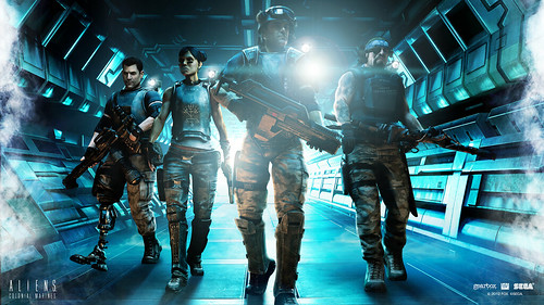 Aliens: Colonial Marines - Wallpaper - Corridor 1920x1080