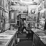 Street Gallery in the Night Market