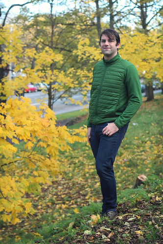 green uniqlo jacket 1