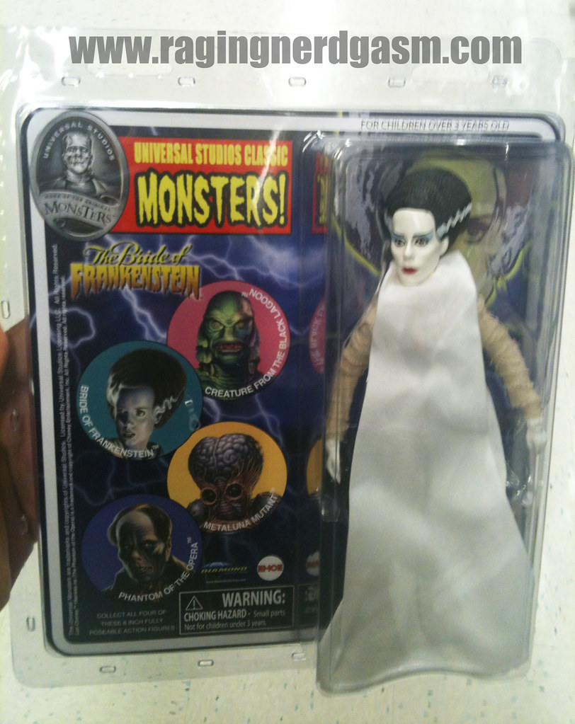 Universal Studios Classic Monsters by Diamond The Bride of Frankenstein001