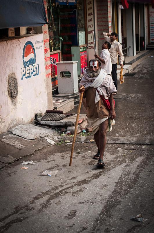 Pilgrim in Rishikesh