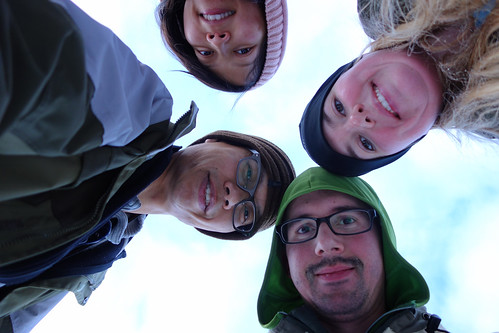 Snowshoeing Rummel Lake-13