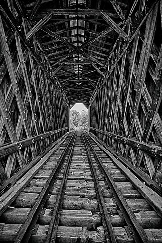 railroad bridge vermont unitedstates tracks railway historic fisher coveredbridge vt wolcott fisherrailroadbridge