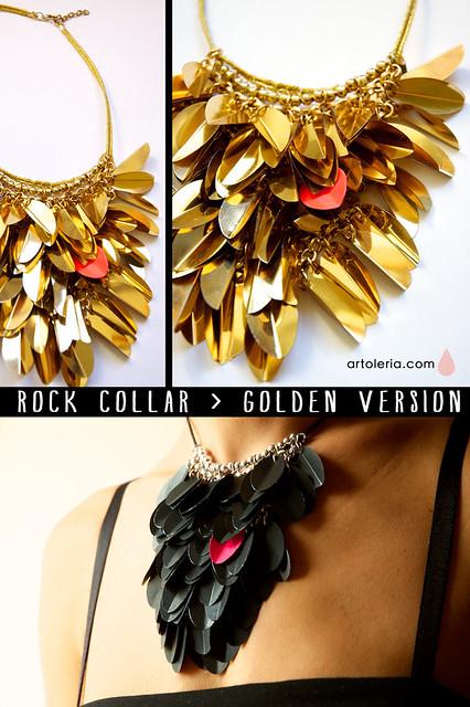 Collana Rock Versione oro