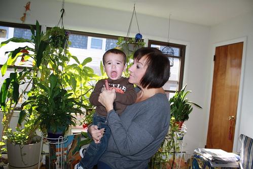 Visiting Nana- November 2012