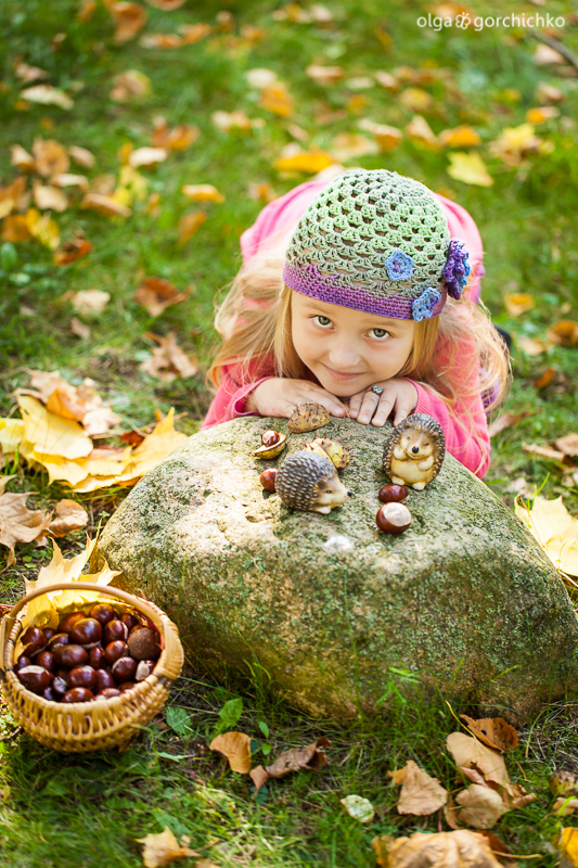 Осенняя фотосессия Насти