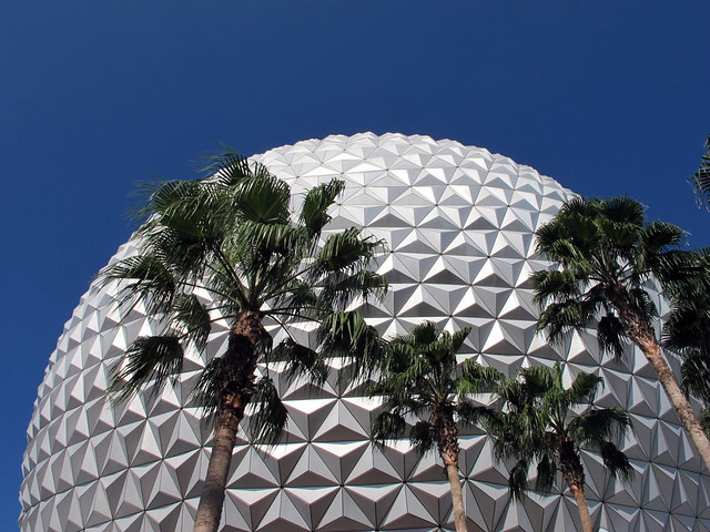 Epcot Center Dome