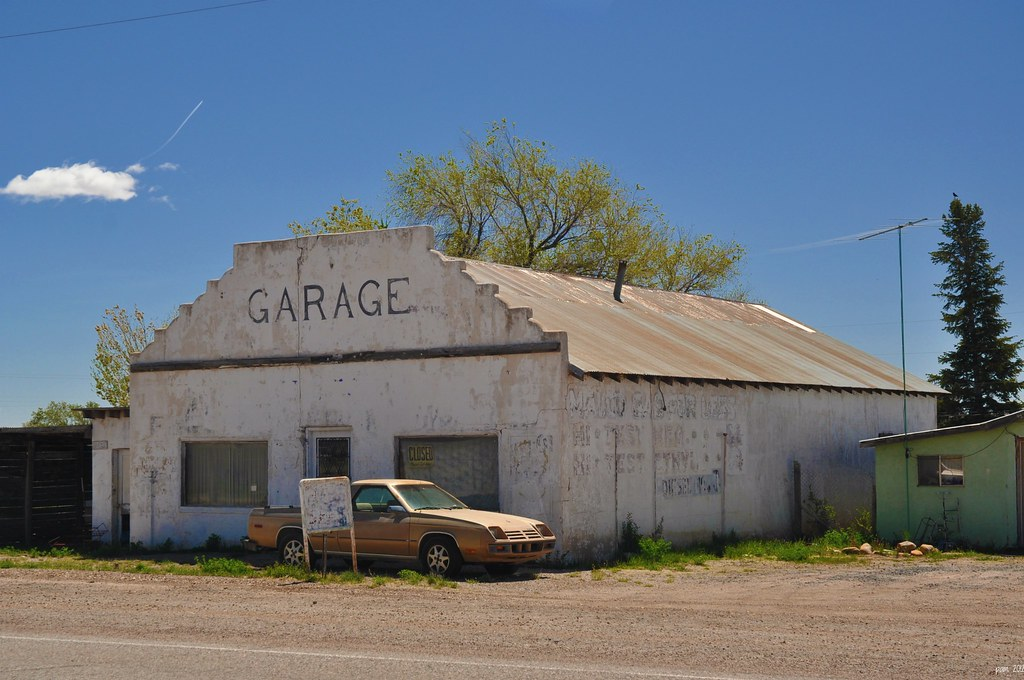 Closed Garage