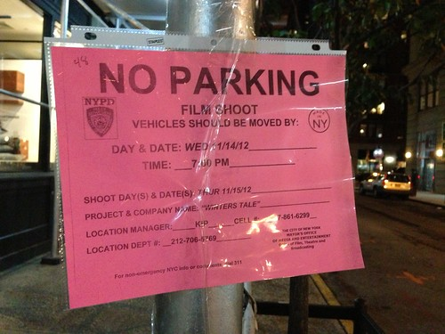 "Filming in Dumbo: ""Winters Tale"""