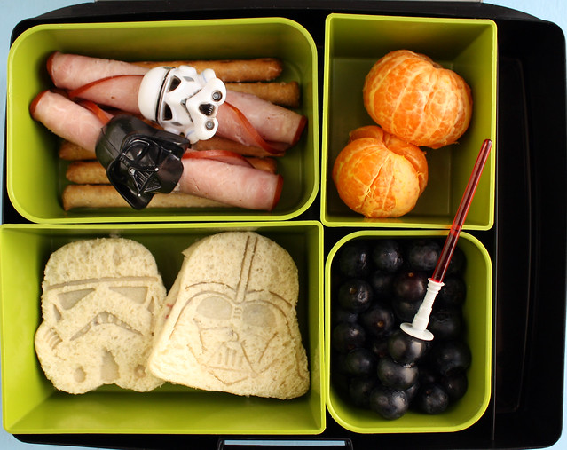 Third Grader Star Wars Bento #681