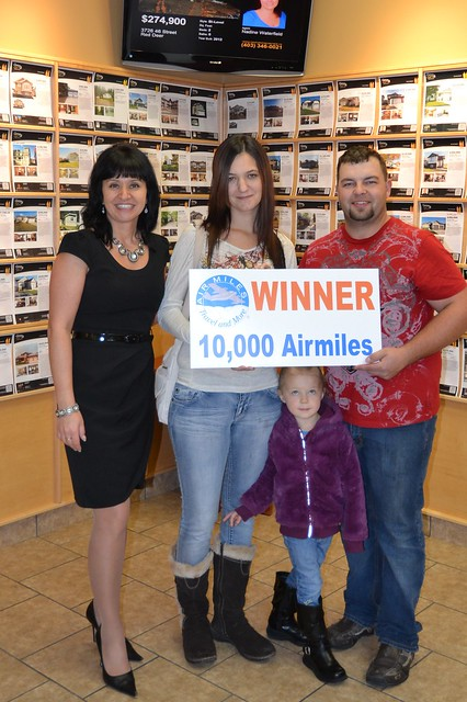 10,000 Air Miles Winner, October 2012