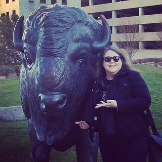"""I'm in effing OMAHA.  Look, a buffalo"""