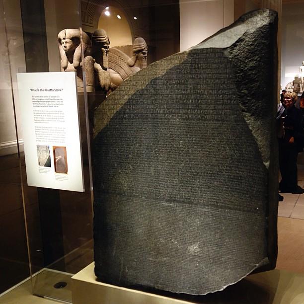 So >> It's the original Rosetta Stone. So wild! | Dave Schumaker | Flickr