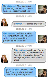Krista Tippett's Twitter Conversation on Books