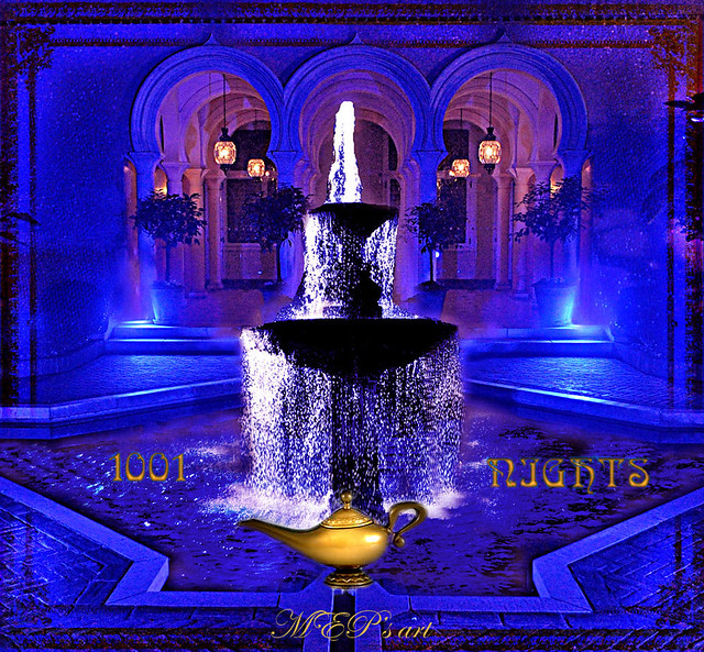 the fountain of joy in 1001 Nights world