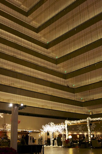 Hyatt Regency Christmas Tree Lighting
