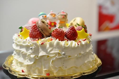 西武池袋本店 クリスマスケーキ ボン+ボンヌ アニバーサリー 赤鼻のトナカイ