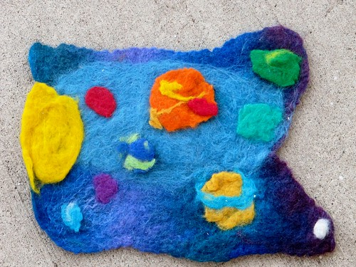 S's Felted Solar System