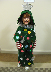 Speck as a Christmas tree for Halloween