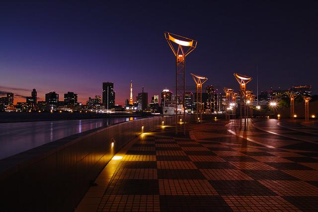 Sunset in Harumifutou
