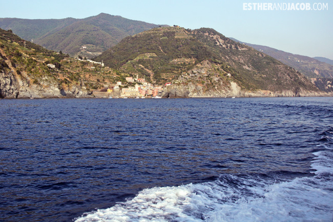 Boat Ride from Vernazza to Monterosso Al Mare | What to Do in Cinque Terre Italy