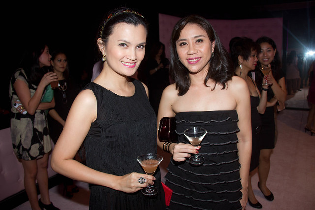 Daphne Osena-Paez, Mel Lerma (Business Devt Manager) of ELC Beauty Inc