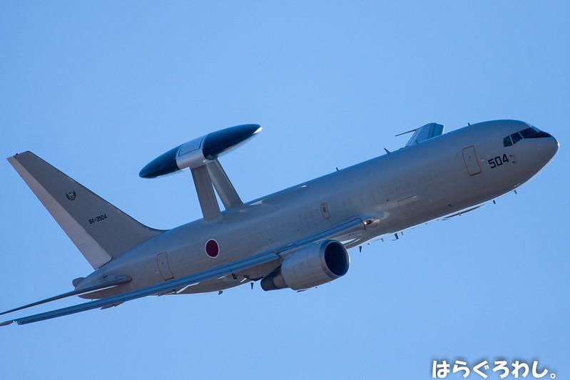 AEWG E-767 #84-3504 @ Shizuoka Hamamatsu A.B.
