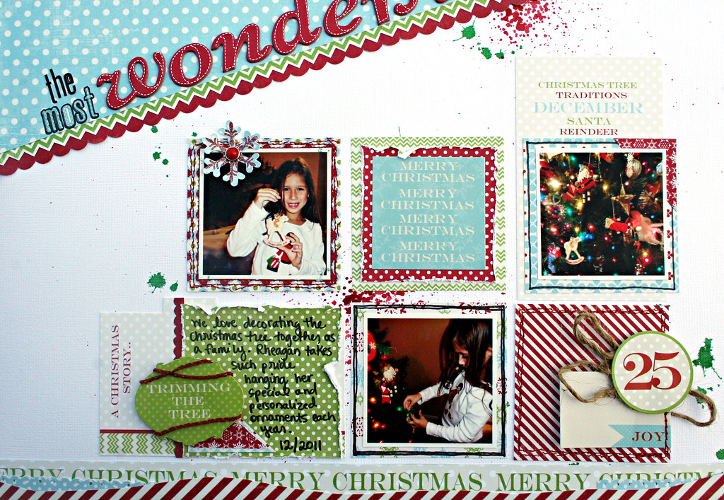 wonderful year photos journaling