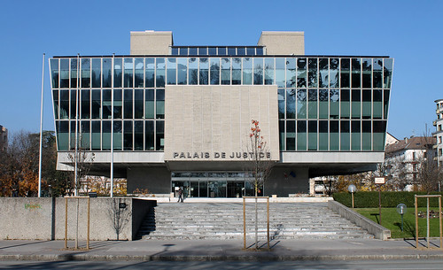 "Palais de Justice ""Novarina"", Annecy, France"