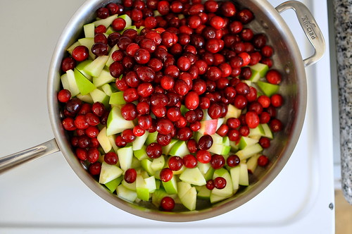 Cranberry-Apple Relish with Ginger and Serrano