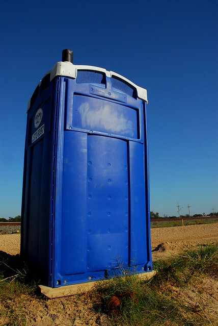 You see Port-a-Jon, I see TARDIS