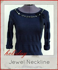 how to make a jewel neckline
