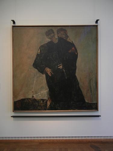 DSCN0881 _ ,,Die Eremiten'', 1912, Egon Schiele, Leopold Mueum, Wien, 5 October