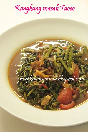 Kangkung Masak Taoco