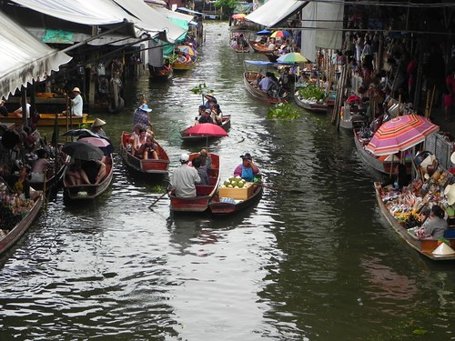 floating market