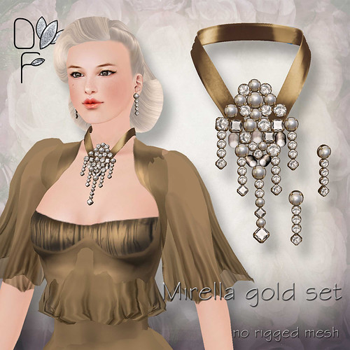 MIRELLA gold set